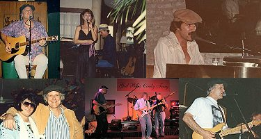 Gary L. Wimmer playing piano and guitar at gigs